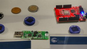 Solar-Powered BLE Sensor Beacon